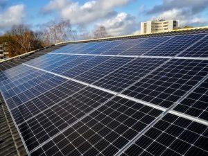 Erfolgreich installierte Photovoltaikanlage in Heide, Holstein
