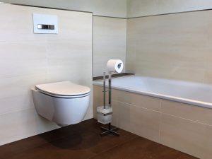 WC und Badewanne - ein schönes Badprojekt